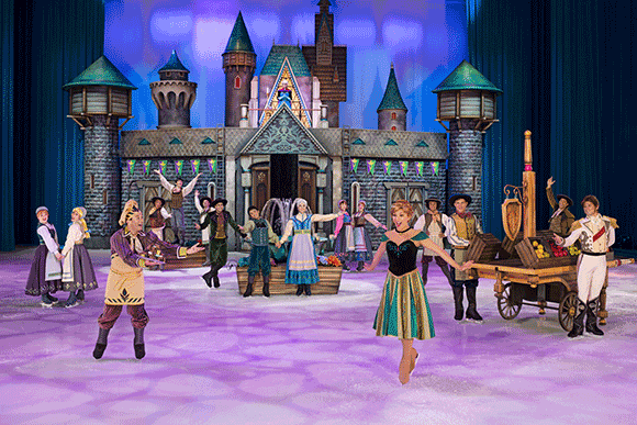 Disney On Ice: Passport to Adventure at Wells Fargo Arena