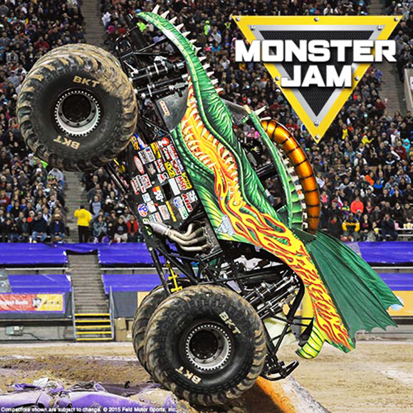 Monster Jam at Wells Fargo Arena