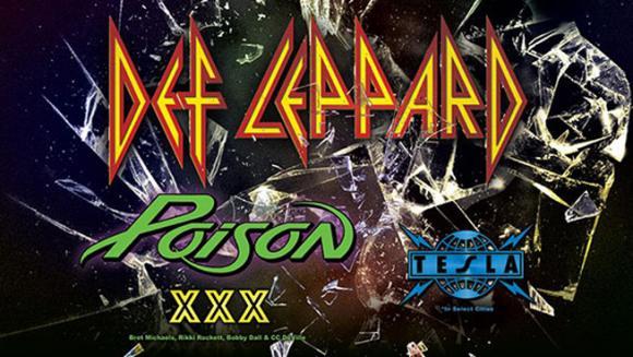 Def Leppard, Poison & Tesla  at Wells Fargo Arena
