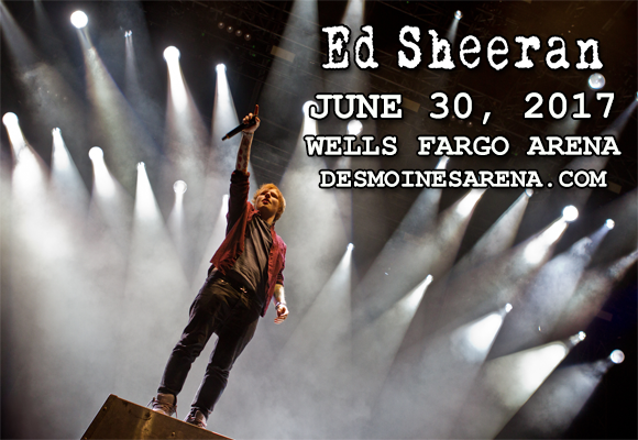 Ed Sheeran at Wells Fargo Arena