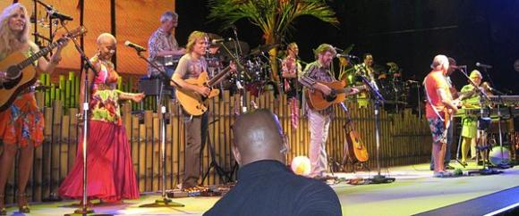 Jimmy Buffett And The Coral Reefer Band at Wells Fargo Arena