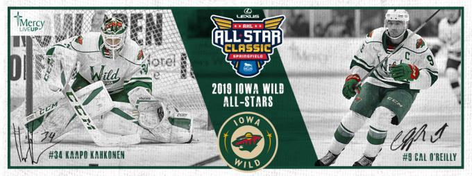 Iowa Wild vs. Milwaukee Admirals at Wells Fargo Arena