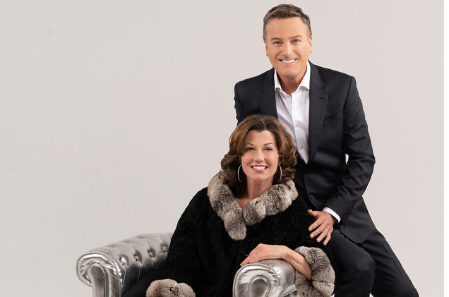 Michael W. Smith, Amy Grant & Marc Martel at Wells Fargo Arena