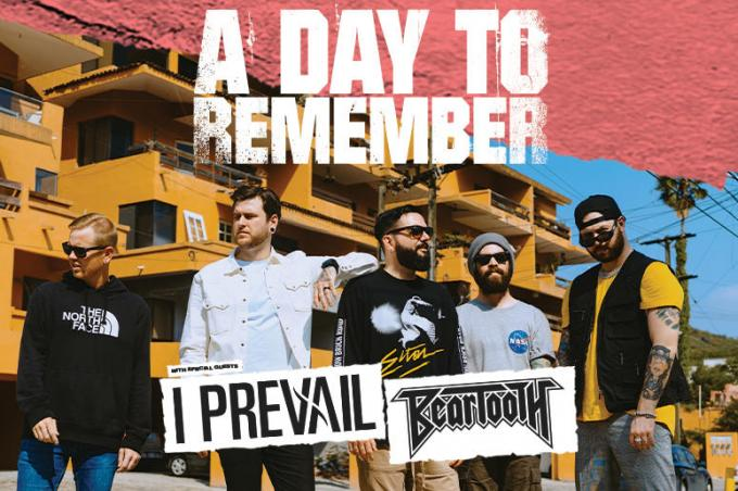 A Day To Remember, I Prevail & Beartooth at Wells Fargo Arena