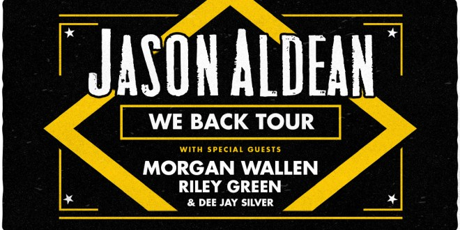 Jason Aldean, Morgan Wallen & Riley Green at Wells Fargo Arena