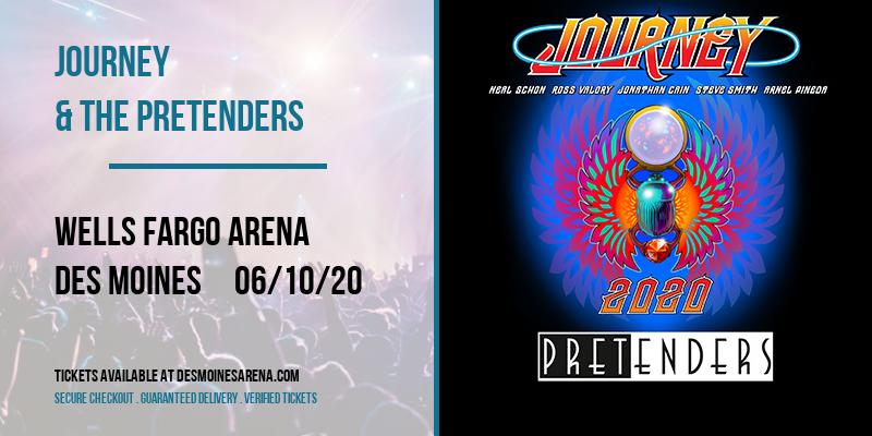 Journey & The Pretenders at Wells Fargo Arena