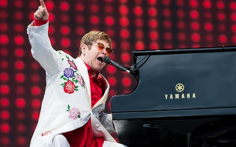 Elton John at Wells Fargo Arena