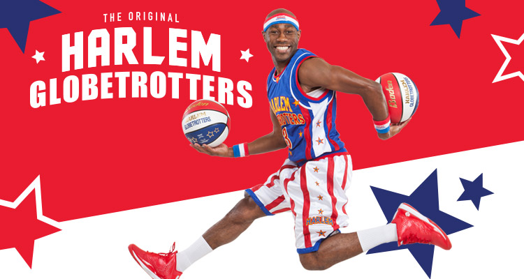 The Harlem Globetrotters at Wells Fargo Arena